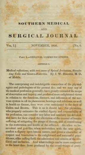 Southern Medical and Surgical Journal